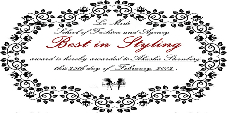 akasha sternberg cert best in styling