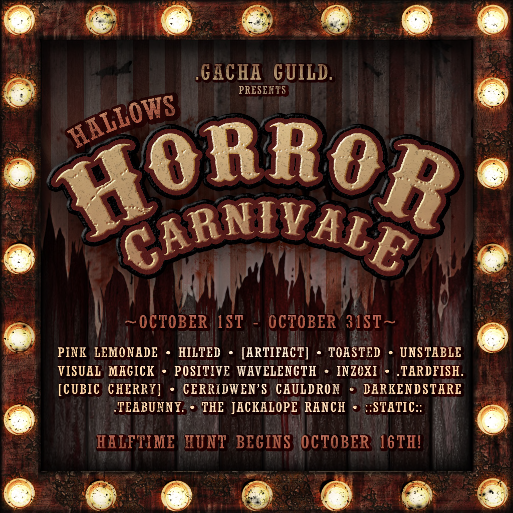 .Gacha Guild. THE HALLOWS Carnivale 2020 Poster