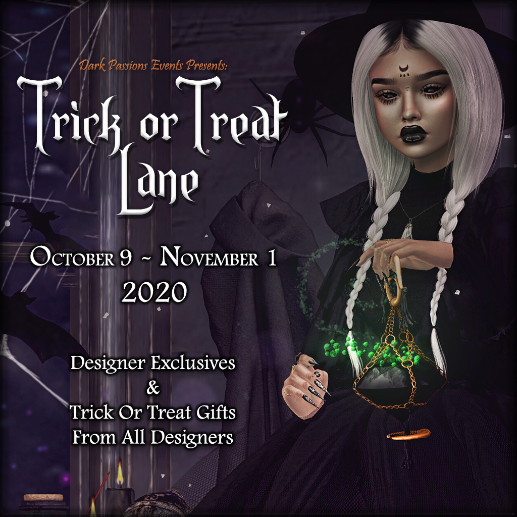 Trick Or Treat Lane - 2020 - Square